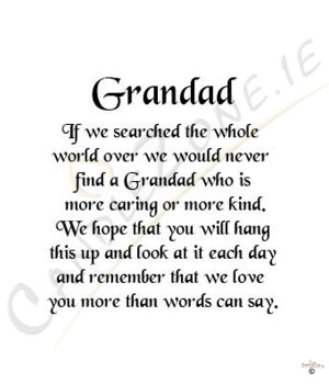 rip grandpa quotes poems