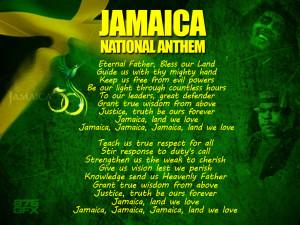 PLAY JAMAICA NATIONAL ANTHEM