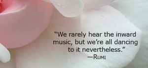 Music dancing rumi