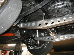 Single Wheelie Bar