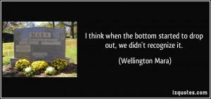 More Wellington Mara Quotes