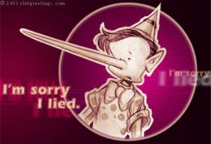 sorry I lied