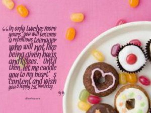 Teenage Birthday Wishes - let me cuddle you to my heart's content and ...