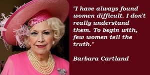 Barbara cartland famous quotes 3