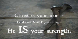 My Favorite Christian Quotes About Strength
