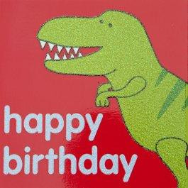 Happy Birthday Dinosaur Card