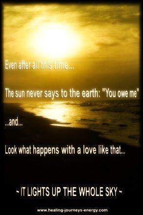 love heals quotes | Inspirational Quotes - Hafiz