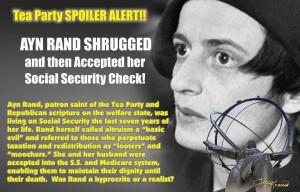 Ayn Rand on social security.