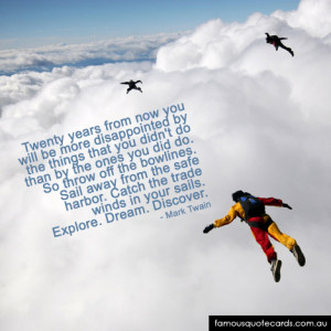 Quotes About Sky Diving http://www.famousquotecards.com.au/quotecard ...