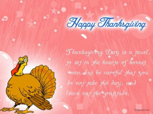 Thanksgiving Day America! =) I am very thankful for my beloved family ...