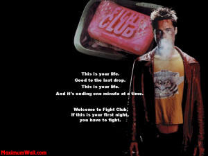 Quotes Fight Wallpaper 1024x768 Quotes, Fight, Club