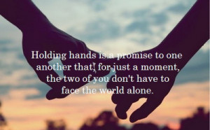 Holding Hands Quotes For Friendship