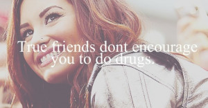 Demi Lovato Quote (About drugs, friends, friendship, frienship, Miley ...
