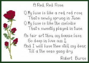Another much loved couple of verses from Scotland's national bard ...