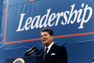 January 25, 1984: President Ronald Reagan giving the State of the ...