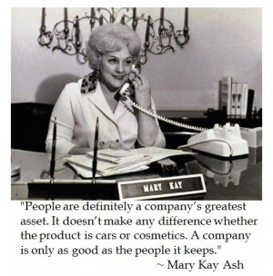 Mary Kay Ash on Business #quotes
