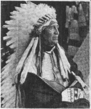 Chief Eagle Wing , another notable who presented in the program, was a ...