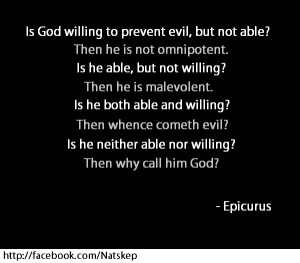 Epicurus gives a profound take on the many possible answers to the ...