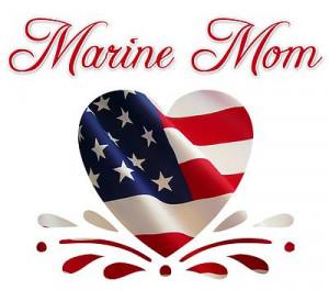 marine mom patriotic heart marines oohrah for your automobile semper ...