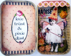 ATC fairy tin - love the left side of this Wedding, Photo Shared ...