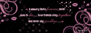 tags colorful quote friendship pink memory