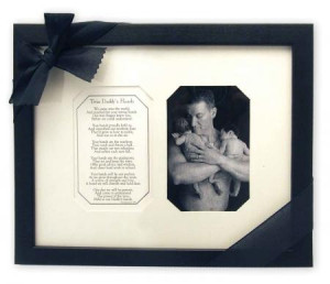 Twin Daddy's Hands Poem Photo Frame | Fathers Day | Twin Gifts | Shop ...