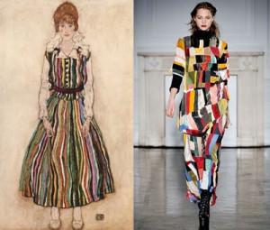 Egon Schiele & Fashion: The Artist as a fierce man