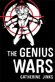 """Start by marking """"The Genius Wars (Genius, #3)"""" as Want to Read:"""