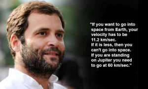 On October 8, 2013, Rahul Gandhi addressed a gathering of dalits and ...