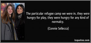 The particular refugee camp we were in, they were hungry for play ...