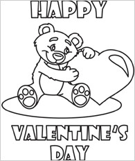 Related to PRINTABLE VALENTINES DAY COLORING PAGES