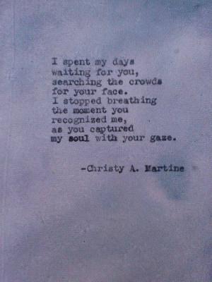 Romantic Gift Love Poem Soulmates True Love Romance Poems Dating ...
