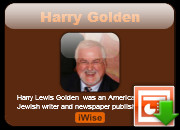 Harry Golden quotes