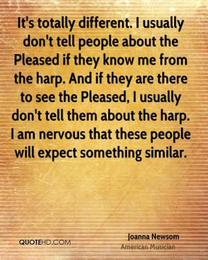 Joanna Newsom Quotes