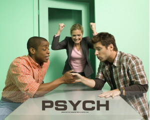 good show on TV these days. Psych is one of those witty TV shows ...