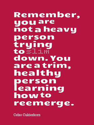 Practical inspiration weight loss quotes on getting slim. Smiles ...