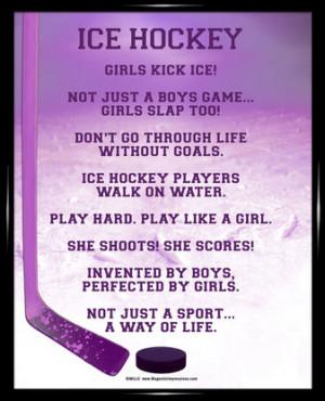 ice hockey quotes quotesgram