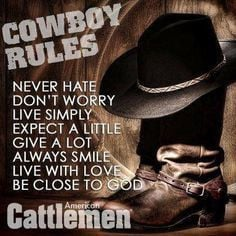 Cowboy Love Quotes | Cowboy Quotes & Sayings More