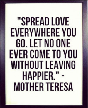 Mother Teresa Quote | Covet Living