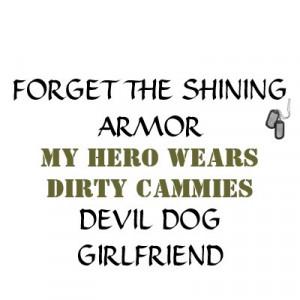 Marine Girlfriend Shirts