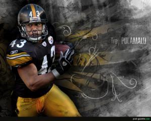 Steelers Troy Polamalu Google Themes