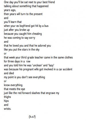 poems poems about death alone self harm cutter self harm tumblr poems ...