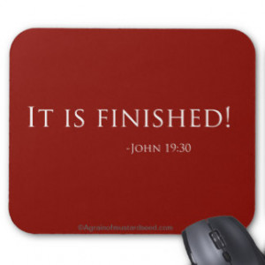 Easter Bible Quotes Mouse Pad