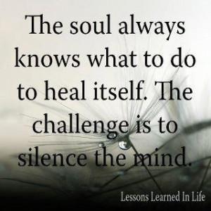 soul healing...