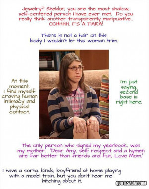 tagged with The Funniest Quotes From The Big Bang Theory