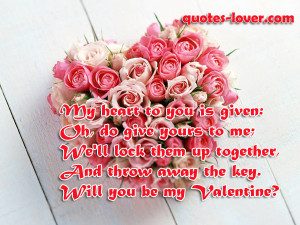 ... Quotes , Valentine Picture Quotes , Valentine's Day Picture Quotes