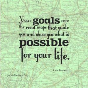 goal setting quotes Les Brown