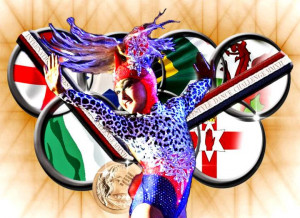 disco good luck good luck billie at olympic comp dancing elite squad ...