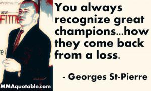 MMA Quotes on Adversity