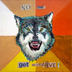 Courage Wolf Joehuntart